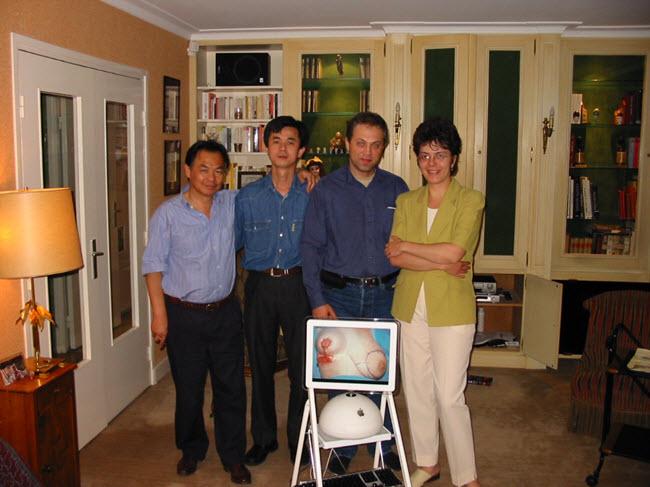 Bác sĩ Thuận học tập cùng giáo sư Claude Le-Quang