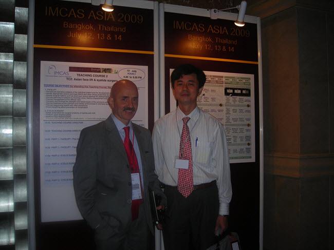 Bác sĩ Thuận cùng Giáo sư Botti