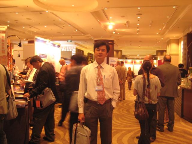 Bác sĩ Thuận tại IMCAS tại Bangkok, Thailand